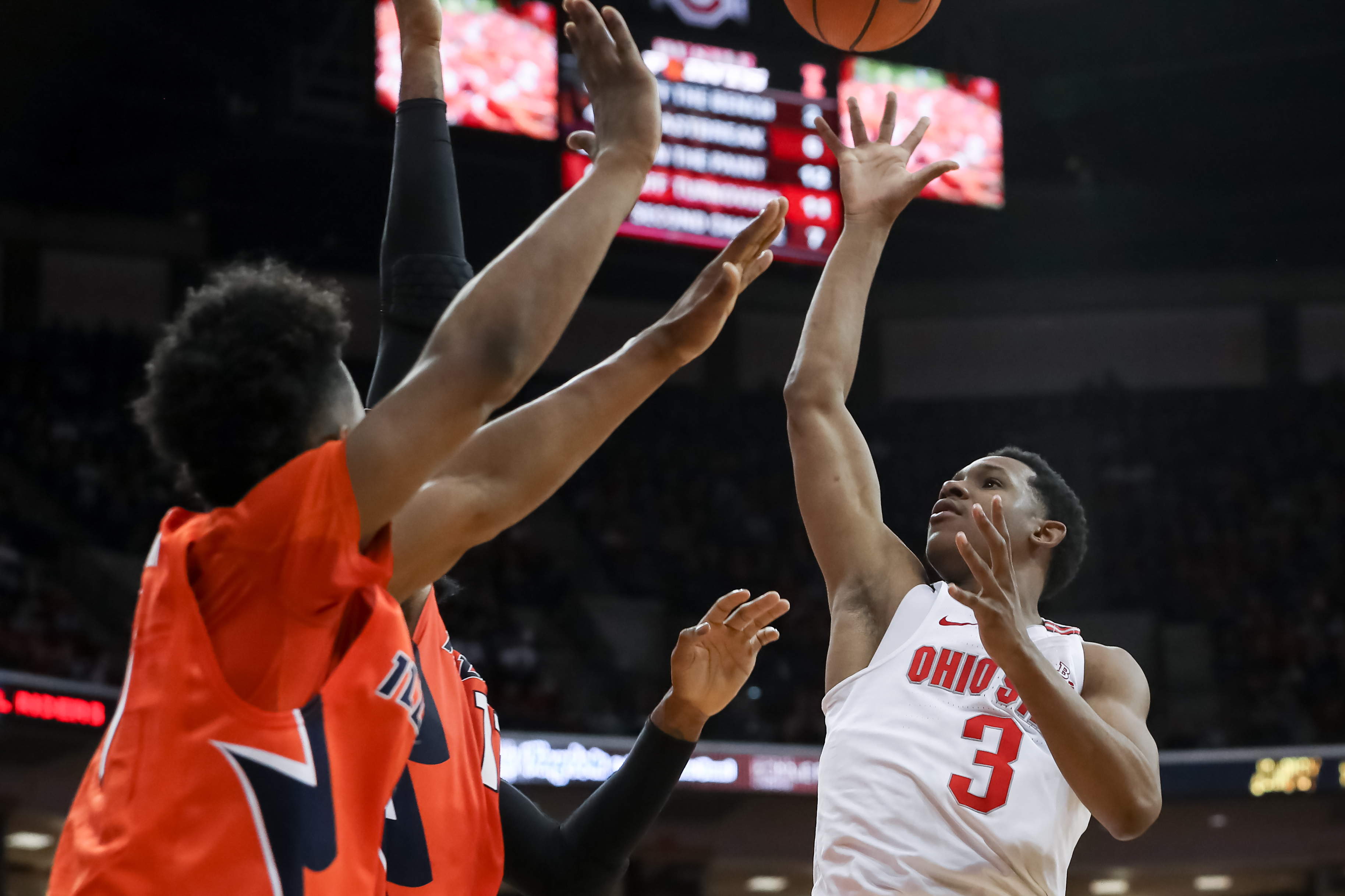No. 1 Badgers lose to No. 6 Ohio State